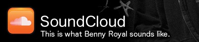 Check Benny Royal's tracks on SoundCloud!